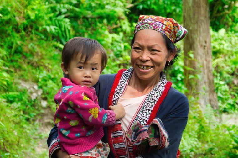 Trek dans les rizières du nord Vietnam