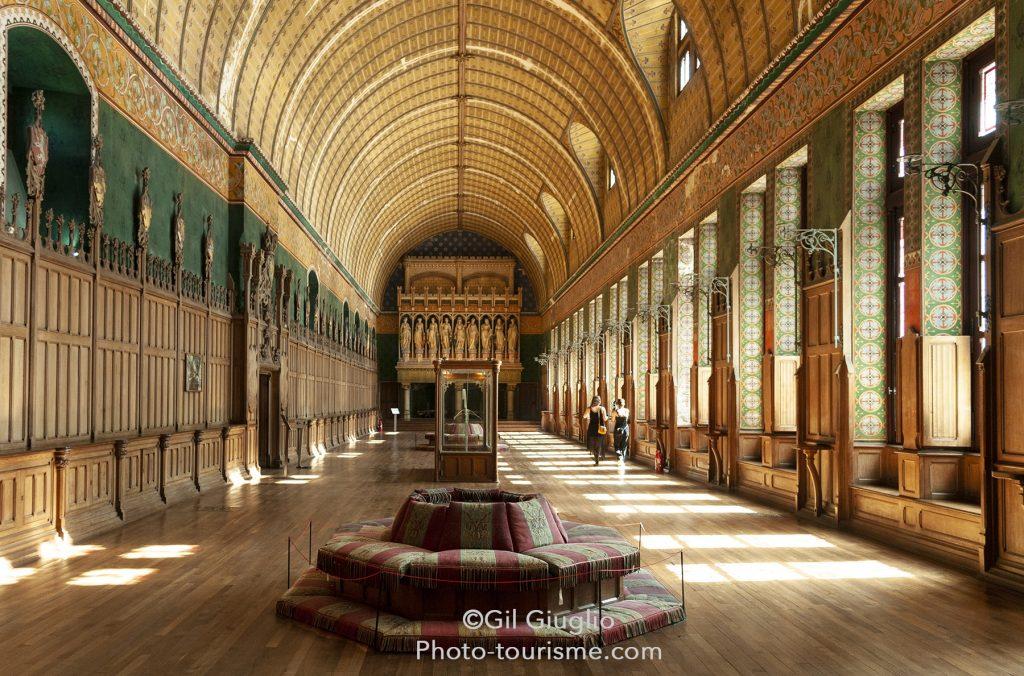 La Salle des Preuses Château de Pierrefonds