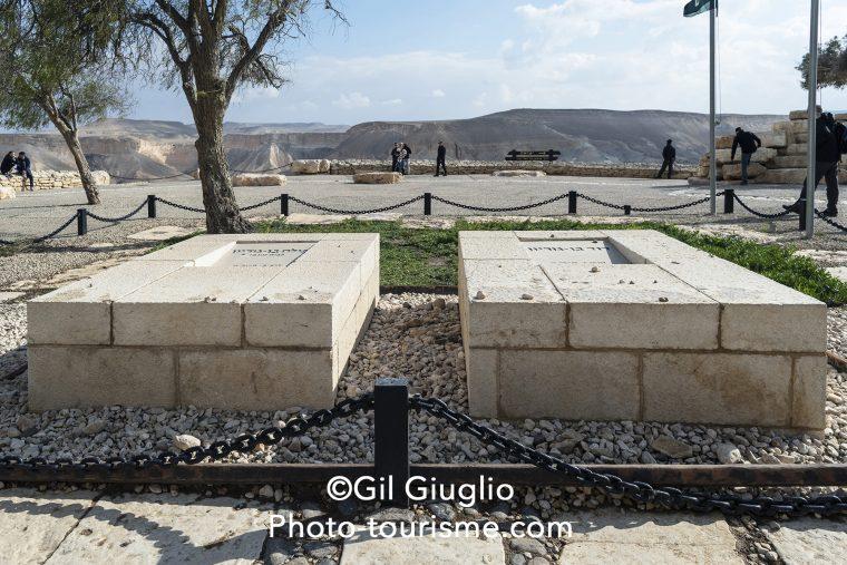 Tombe de Ben Gourion