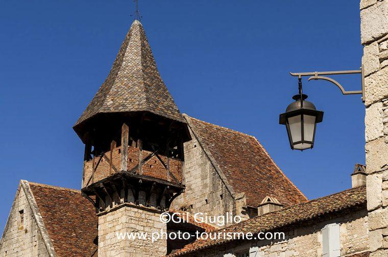 Prieuré du village d'Espagnac-Saint-Eulalie
