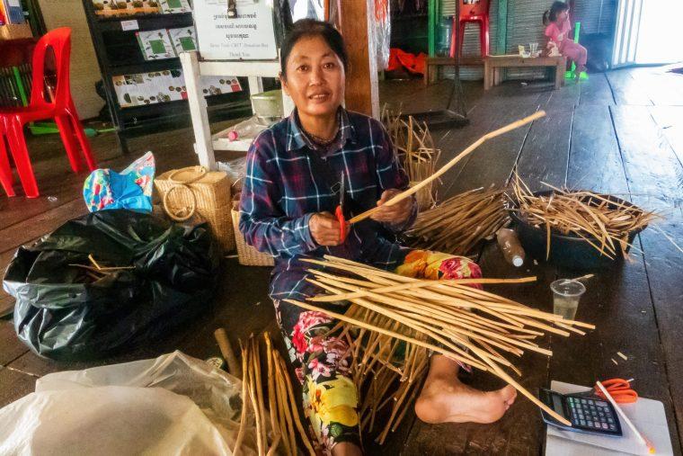 Artisane, Tonlé Sap, Cambodge