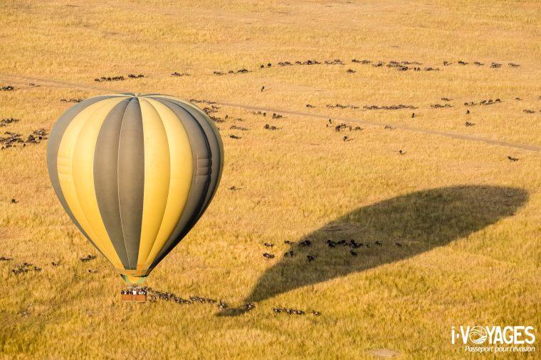 Montgolfière à Masaï Mara
