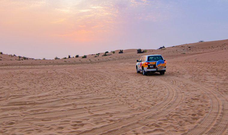 safari dans le désert à Dubai