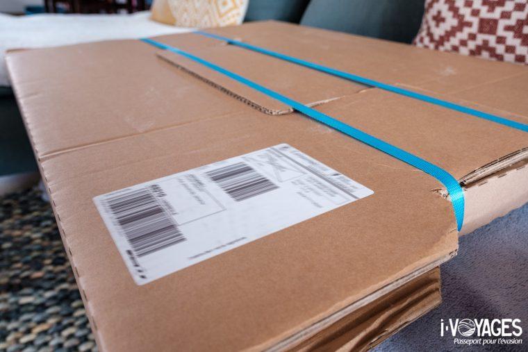 Emballage cartonnée tirage photoweb