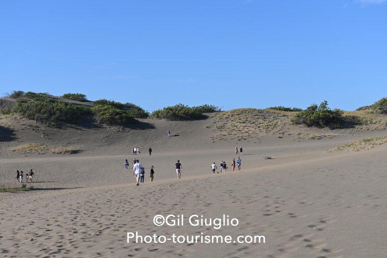 Dune de Las Calderas, République Dominicaine