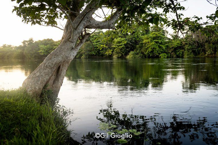 Paysage de la rivière Kwaï