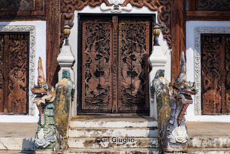 Détail temple à Lampang