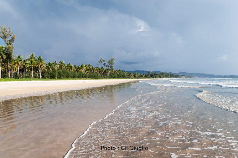 Plage Parc National Kao Lak Lam Ru.