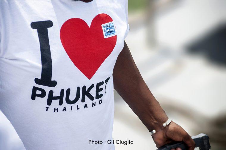 Tee-shirt I Love Phuket
