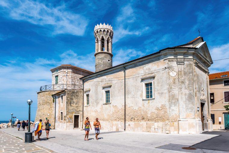 Eglise Saint-Clément, Piran