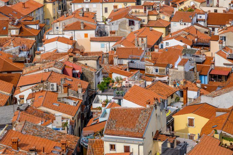 Les toits de Piran