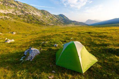 5 micro-aventures en tente dans les Alpes