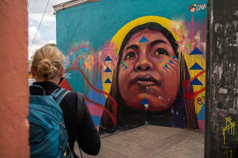 Street-art à Bogota
