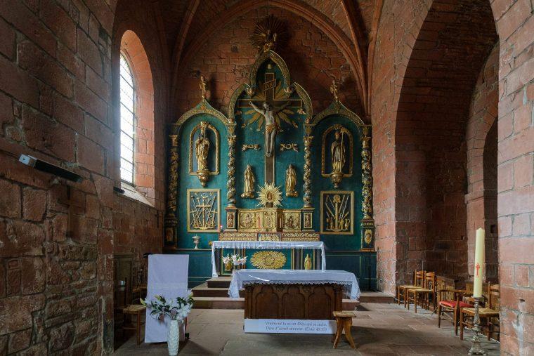 Eglise Saint-Pierre, Collonges-la-Rouge