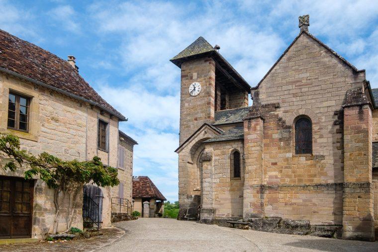 Eglise Saint-Barthélémy, Curemonte