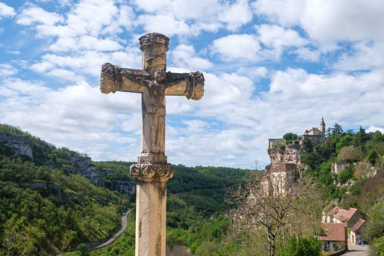 Voie Saintes, Rocamadour