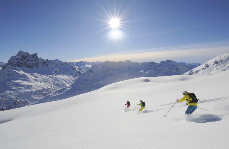 Ski à St. Anton am Arlberg