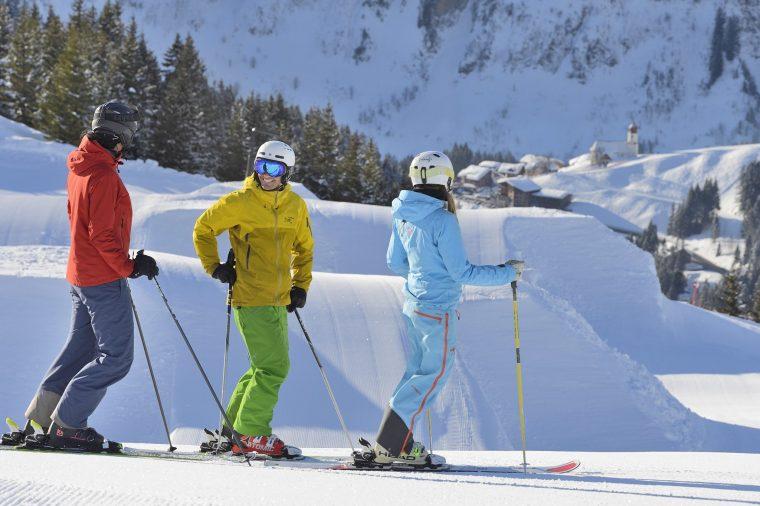 Station de ski de Damüls-Mellau, Bregenzerwald, Autriche