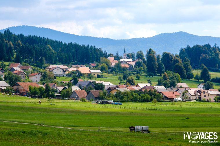 Village du Parc régional de Notranjska