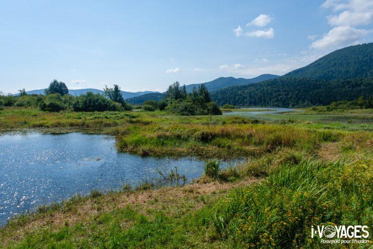 Lac Cerknica, parc régional de Notranjska