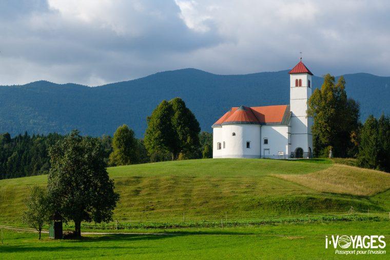 Eglise, Parc régional de Notranjska