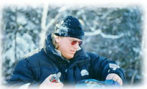 Jean, guide de notre périple en motoneige au Québec
