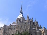 Eglise abbatiale du Mont Saint Michel