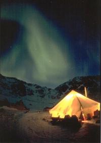 Nuit étoilée dans le Grand Nord
