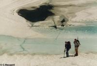 Lac glacé de Clarabide - © C.Maugard