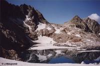 Lac glacé de Clarabide - © J.Maupomé