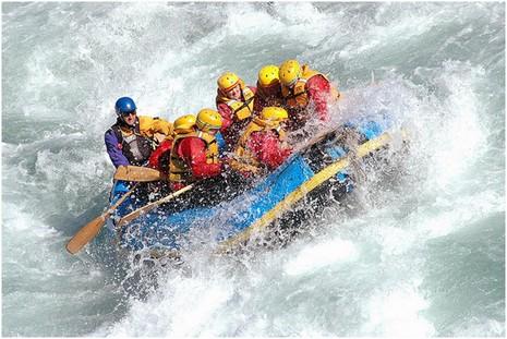 Rafting en Nouvelle-Zélande © Flickr Natbat