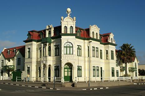 façade namibienne