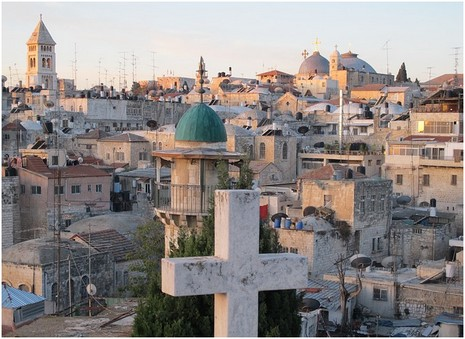 Jérusalem vue sur les toits de la ville : IrinaUzv