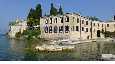 Italie Garda L'automne Bâtiment Fenêtre Port: flyupmike