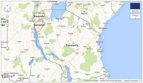 Tanzanie maps