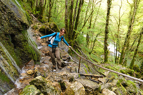 Cinq itinéraires de randonnées en boucle, baptisés « sentiers de Courbet » ont été créés. Ils mènent aux lieux que le célèbre peintre affectionnait particulièrement.