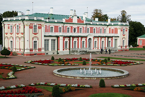 Le palais du Kadriorg, voulu par le tsar Pierre-le-Grand qui était sous le charme de Tallinn.