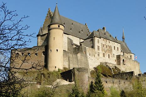Superbement restauré, le magnifique château de Vianden est le monument le plus visité du pays.