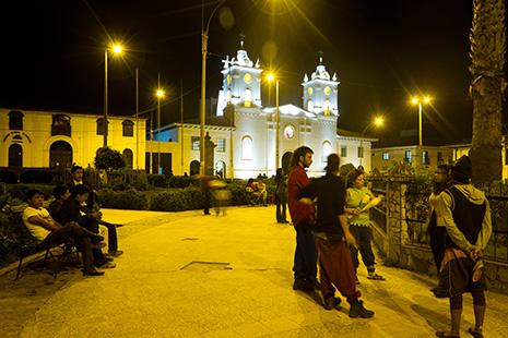 La place d'Armes et la cathédrale de Chachapoyas, une petite ville bien sympathique © office de tourisme PromPeru