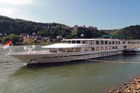 CroisiEurope dispose d'une importante flotte, dont le « MS Gérard Schmitter », du nom du créateur de la société alsacienne maintenant présente sur plusieurs continents.
