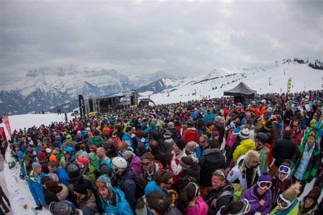 Rock the Pistes © Mathieu Vitré