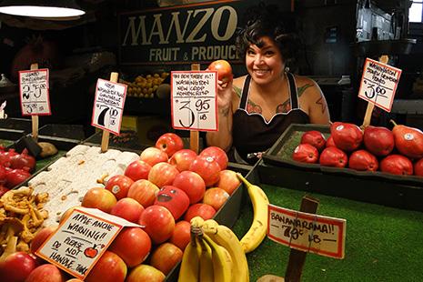 Pike place market, est le plus ancien marché du pays.