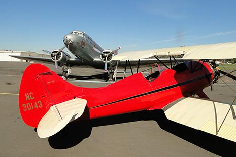 Pas moins de 150 appareils, du biplan au drone en passant par le Concorde, au musée de l'aviation, le plus grand musée privé du monde.