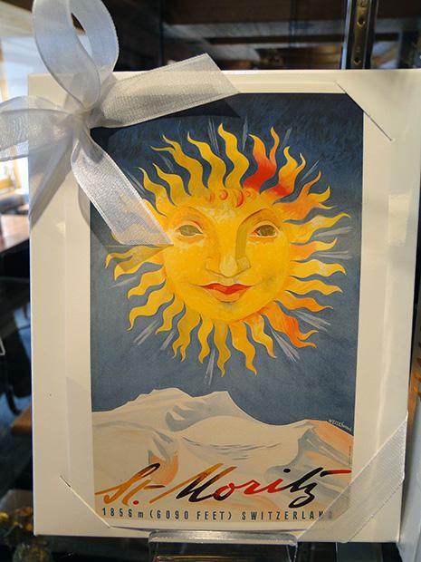 L'emblème officiel de Saint-Moritz