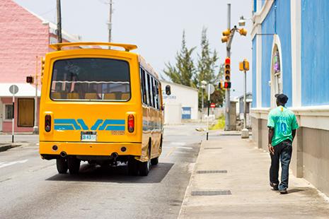Les rues de Bridgetown