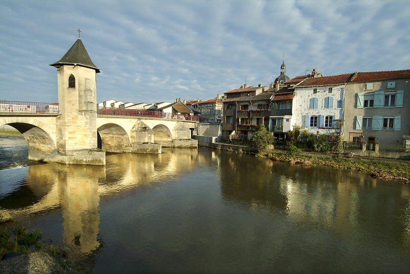 Pont Notre-Dame à Bar-le-Duc © CDT Meuse / Michel PETIT