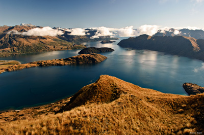 Lac Wanaka © Kieran Scott - Offıce de Tourısme de Nouvelle-Zélande