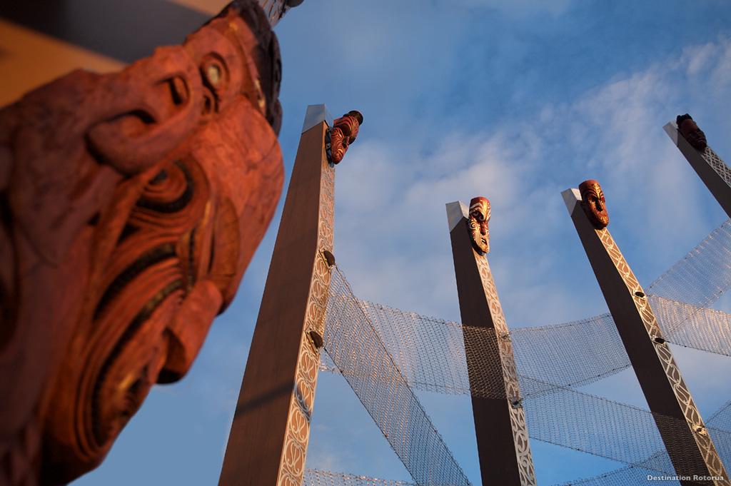Te Puia, un ıcone Maori © Destination Rotorua - Offıce de Tourısme de Nouvelle-Zélande