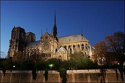 Ile de la cité - Notre Dame