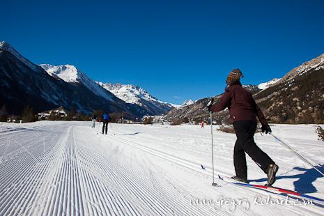 Ski de fond - vallée de la Clarée